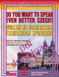 Chcete ještě lépe mluvit česky? - Učebnice 2 v PDF /  Lehrbuch 2 im PDF