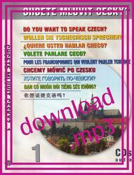 Do You Want to Speak Czech? - download of audiorecording (mp3)