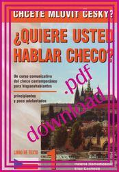 ¿QUIERE USTED HABLAR CHECO? - Libro de texto 1 en pdf / Textbook 1 in pdf
