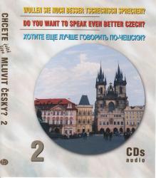 Chcete mluvit česky? - 3CD audio 2 / 3CDs audio 2